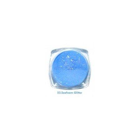 Akryl kolorowy 3,5g, Seafoam Glitter 53
