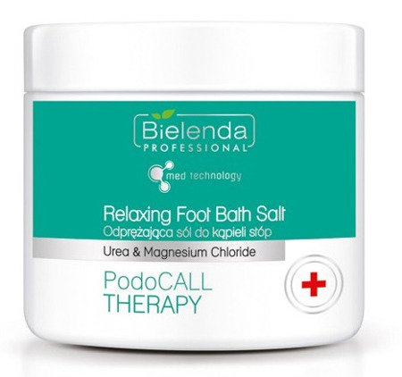 BIELENDA PodoCall Therapy Odprężająca sól do kąpieli stóp 500 g