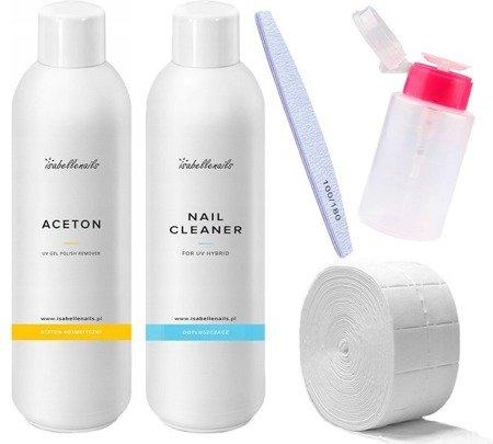 Cleaner + Aceton 1000 ml + 3 GRATISY