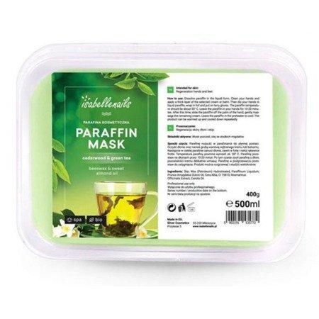 Parafina kosmetyczna Cedarwood & Green Tea 500 ml