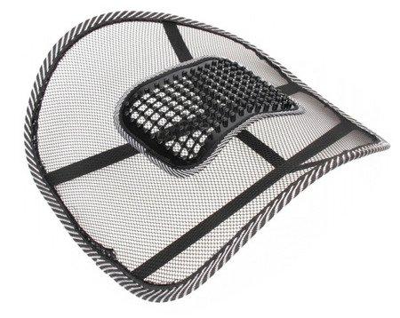 Podpórka lędźwiowa ergonomiczna pod plecy z masażerem