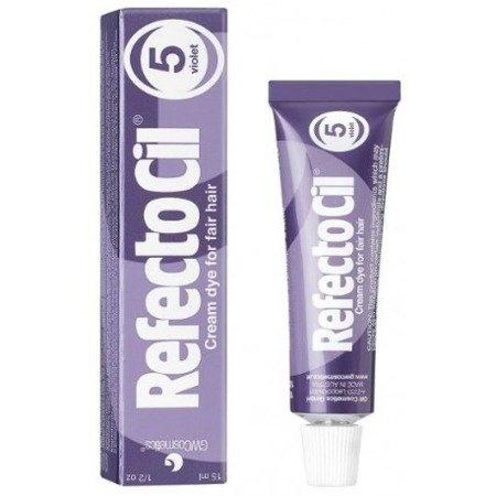 RefectoCil Henna żelowa 5. Fioletowa 15 ml