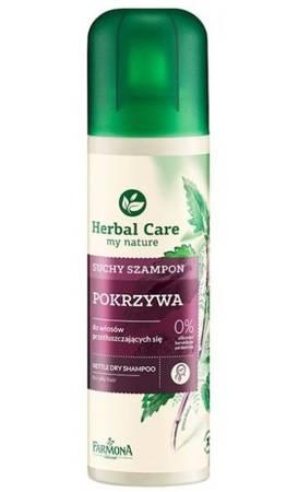 Suchy Szampon Pokrzywa Herbal Care 180 ml