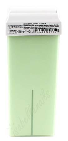 Wosk do depilacji zielona herbata rolka